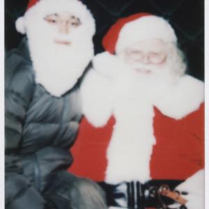 Santa & Myself as Santa